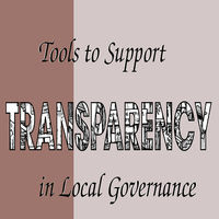 Tools  to support transparency in local governance png