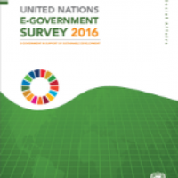 UNITED NATIONS E-GOVERNMENT SURVEY 2016pic